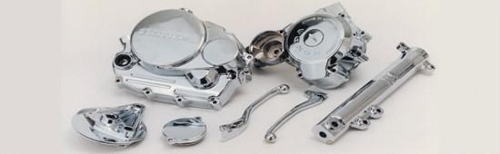 Cromagem alumínio
