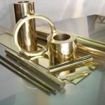 Banho cromo dourado