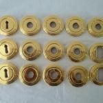 Banho de ouro em inox