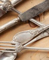 Restauração de peças de prata