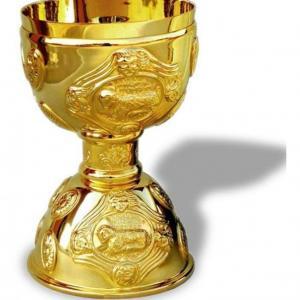 Banho de ouro em peças de metal